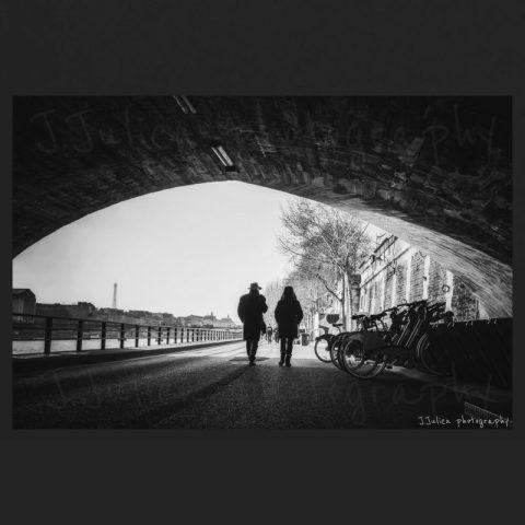 photographie de rue noir et blanc art