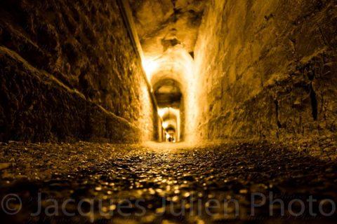 Catacombs Tunnel – Stock Photo