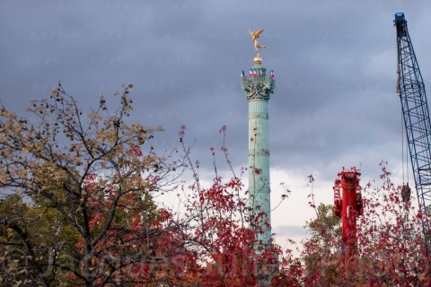 Colonne de juillet Bastille, Paris