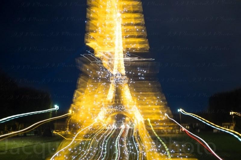 Tour Eiffel Photographie abstraite