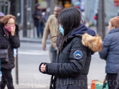 Coronavirus Paris Editorial