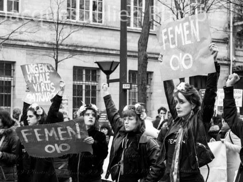 Journée internationale des femmes Paris