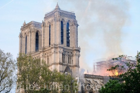 Fire massive damage Cathedral
