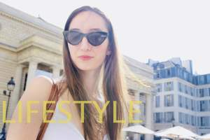 portrait de jeune femme à Paris