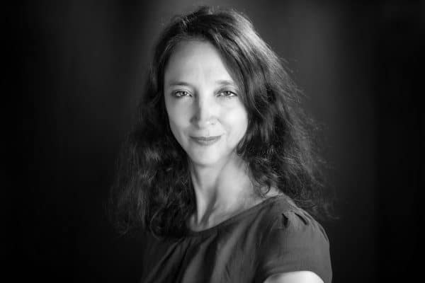 woman black and white face Jacques Julien
