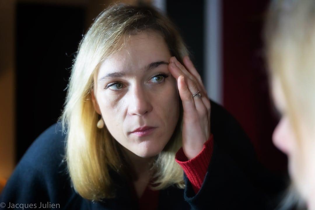 blond young woman art David Lynch