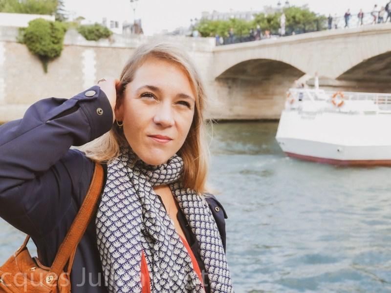 photographie touriste Paris France Seine