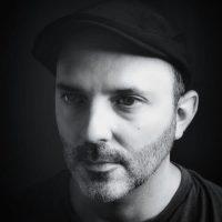 black and white photo portrait